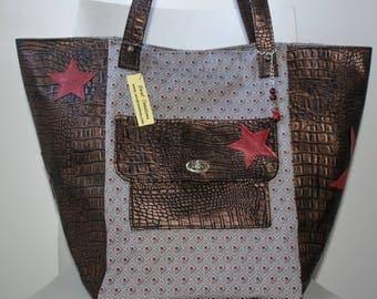 large star tote bag