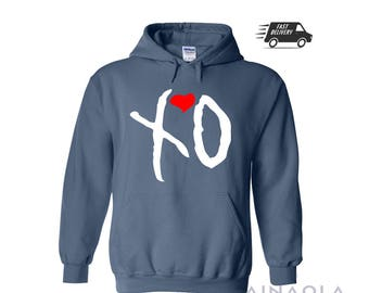 Wainaola The Weeknd XO Hoodie, The Weeknd Hoodie, Starboy Hoodie, The Weeknd Clothing, Starboy Weeknd Hoodie, The Weeknd Hoodie, XO Hoodie