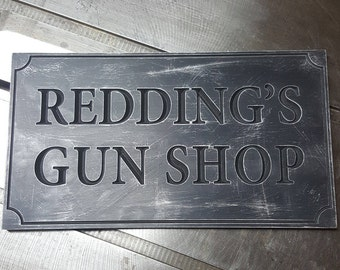 Custom Shop Signs - for your workshop or garage!
