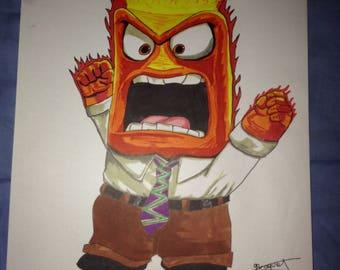 Vice Versa: anger