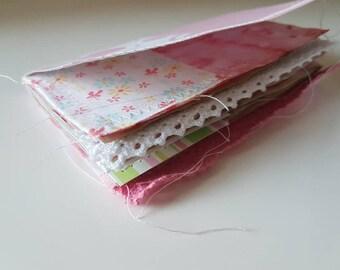 Traveler's Notebook junk journal inserts for baby girl - pocket size