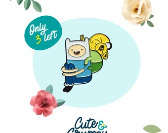 Adventure Time - Finn and Jake 2nd Sale - ONLY 3 LEFT  - enamel pin