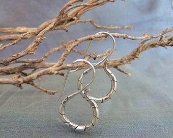 Sterling Silver earrings. Silver jewelry. Ethnic earrings. Ethnic Jewelry. Silver earrings. Silver jewelry. Ethnic earrings.