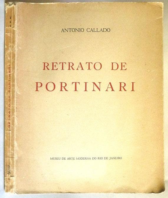 Retrato de Portinari 1956 Antonio Callado - Museu de Arte Moderna do Rio de Janeiro - Portuguese Language - Brazilian Painter Artist