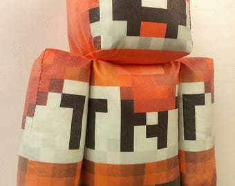 ExplodingTNT Minecraft Plush Toy