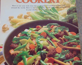 Wok Cookery , 1977 , Ceil Dyer , HP Books , Wok Cook Book , Wok Cookbook