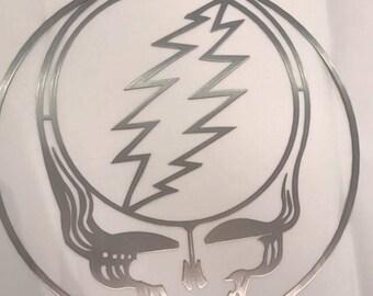 Grateful Dead , Grateful Dead Sign , Metal Sign, Laser cut Metal Sign, Metal Grateful Dead Sign, Metal Wall art, Metal Laser cut Sign,