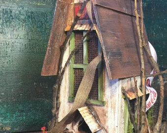Birdhouse, bird house, birdhouses, custom, vintage style, Coca-Cola,