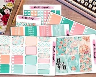 Happy Planner Weekly Kit - BeYouTiful, Floral Classic Happy Planner Weekly Kit
