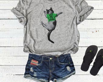St. Patricks Day Shirt Pet Me I'm Irish  - Funny St. Patricks Shirt - Take A Pitcher - Beer Lover Gift Idea - Irish Drinking Shirt