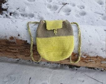 Crochet sac à dos
