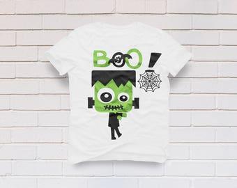 Halloween svg, Boys halloween svg, Frankenstein svg, Monster face svg, Monster svg , Halloween shirt, Cricut, Cameo, Svg, DXF, Png, Pdf, Eps