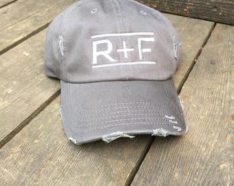 SOLID COLOR CAP- R+F- Rodan + Fields Trucker Cap, Baseball Cap, Trucker Hat, Rodan + Fields, R+F, Cap