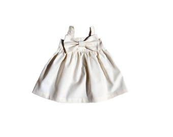 Baby Girl Dress, Baby Girl Bow Dress, Toddler Bow Dress, Toddler Maxi Dress, Girls Maxi Dress, Baby Top, Girl Tunic Top, Toddler Tunic