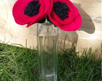 Single stem felt poppy (1)