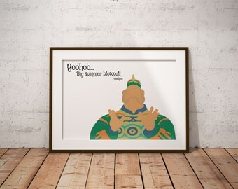 Yoohoo, Big Summer Blowout Poster, Oaken, Frozen, Disney, Quote, Print