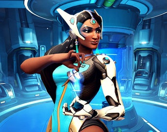 Symmetra - an Overwatch inspired perfume oil