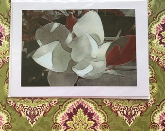 Card of Photo of Magnolia