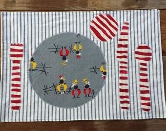 Montessori-inspired Placemat