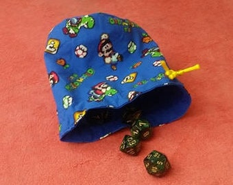 Super Mario World Dice Bag