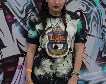 Tiger Beer Distressed Shirt - Youth Large