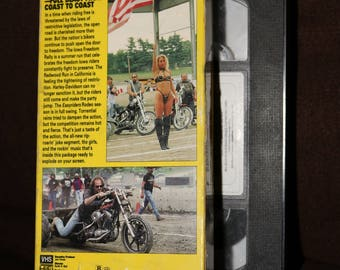 Easyriders Magazine VHS 14 Tape Old School 1992 Biker Rally Video Easy Riders Hog Motorcycle Collection