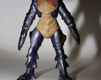 "Guitardo (1993) Mighty Morphin Power Rangers 7.5"" Action Figure  Monster Trini Auto Made by Bandai"