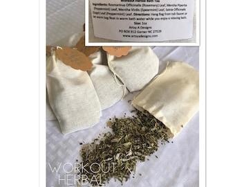 Workout Herbal Bath Tea