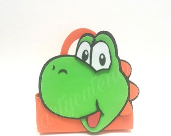 Super Mario Brothers Yoshie candy Bag
