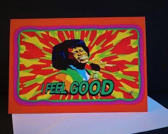 James Brown Card