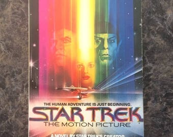 Star Trek The Motion Picture Novel - Written by Gene Roddenberry