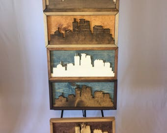 Minneapolis Skyline (Small)- FREE SHIPPING!