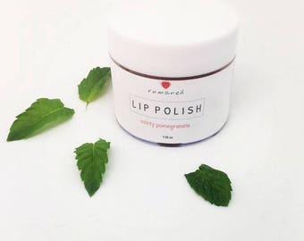 LIP POLISH | minty pomegranate