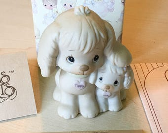 Vintage Precious Moments Puppy Love Figurine 520764