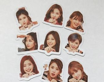Twice Stickers | Knock Knock Stickers | 10% Off Code SOKPOP10