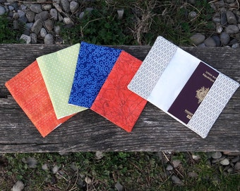 Pouch Passport • several patterns to choose from