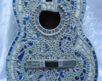 "Mosaic Guitar ""The Blues"""