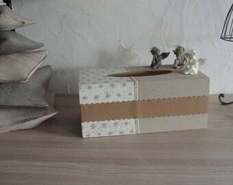 "Box with handkerchiefs ""Angels""..."