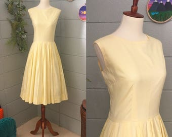 L'AIGLON 1960's Vintages Fit and Flare Dress