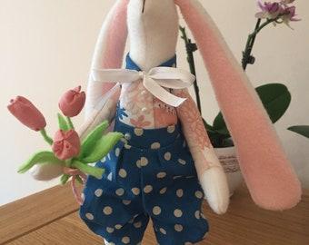 Easter Bunny Boy (Tilda-art)