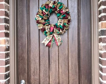Home for the Holidays Wreath by Miss Mazie