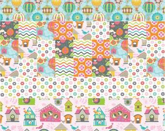 Float Away Quilt Kit, Flutter & Float Fabric, Blend Fabrics, Ana Davis, Girl, Quilting Fabric, Cotton Fabric