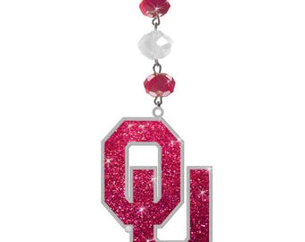 UNIVERSITY OF OKLAHOMA Sooners *Bling* Magnetic Ornament,Ou Sooners, Sooners Ornament, Sooners Football, Ou Sooners, Boomer Sooners