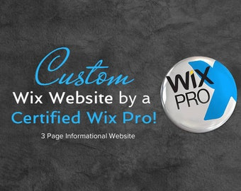 Custom 3 page Wix Website Design