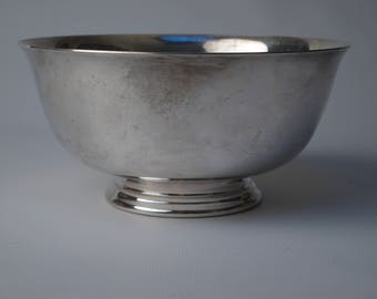Reed and Barton 1953 Silverplate bowl