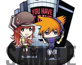 The World Ends With You Acrylic Standee [Preorder]