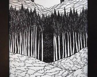"""Lucas Allen Cook  """"Forest Gateway"""""""