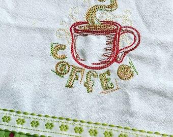 Coffee Kitchen Towel