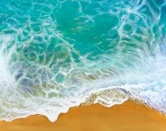 Waves - Original Acrylic On Canvas