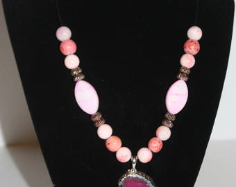 Pink Dream Pendant Necklace